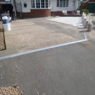 Drive-Cote Ltd concrete ready for resin bonded install