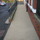 disabled ramp resurfacing