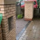 brick pillars
