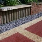 attractive path and patio design