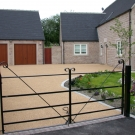 natural resin  finish for tarmac driveway