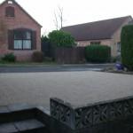 Resin Bonded Aggregate driveway
