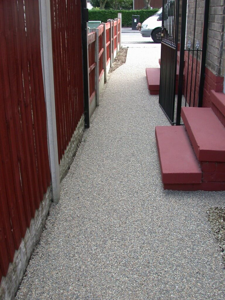 resin bound stone driveway anti slip properties