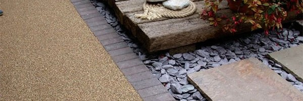 Berry hill lane Mansfield slate details with sleepers