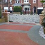 driveway tarmac concrete or resin