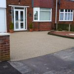resin bonded driveway install