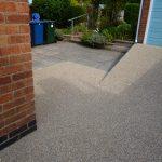 resin bonded gravel access