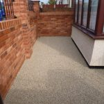resin stone option by Drive-Cote ltd