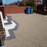 diy paving slabs vs diy gravel bound resin surface