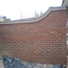 curved raised walling design