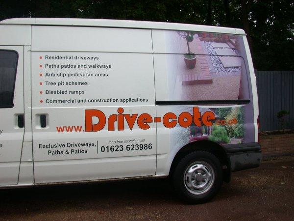 Drive-Cote Ltd resin bonded installers