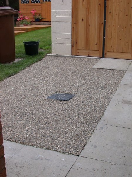 impermeable resin surfacing