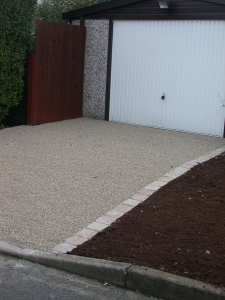 resin bonded impermeable surface