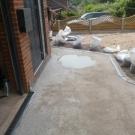 grey bauxite drive being prepared