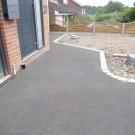 ravenshead resin bonded grey bauxite drive being completed