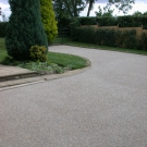 driveway access providing a durable and protective finish
