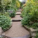 antslip resin resurfacing of garden paths