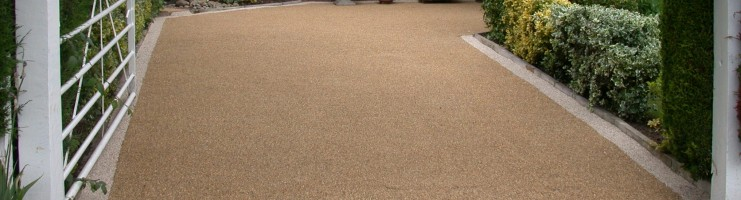 resin driveway resurfacing alternative