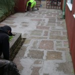 Slabs prior to resin Bonded Stone resurfacing