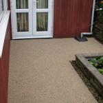 Resin Bonded resurfacing for patio by Drive-Cote Ltd