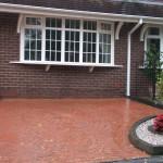 resin driveway resurfacing for imprinted concrete