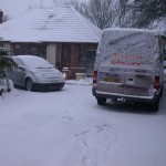 Drive-Cote Ltd snow covered garden