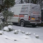 Drive-Cote Ltd grounded by the snow
