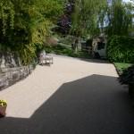 Matlock resin driveway