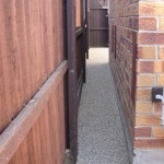 resin bonded aggregate path in Mansfield