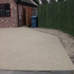 installation of resin bonded gravel by Drive-Cote Ltd team