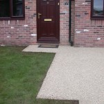 Installation of resin bonded gravel by Drive-Cote Ltd
