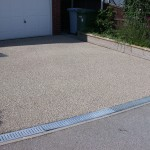 resin bonded gravel works with drainage