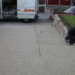 resin driveway bonded? bound? by Drive-Cote Ltd