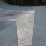 Nottingham resin driveway working project