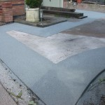 Nottingham resin driveway working project by Drive-Cote Ltd