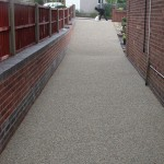 resin bound paving works Mansfield