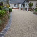 Grand entrance for resin bonded stone works Mansfield