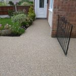 Clay Cross resin bonded stone project by Drive-Cote Ltd