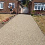 resin bonded stone driveway by Drive-Cote ltd