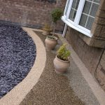 Nottingham resin driveway and path detail