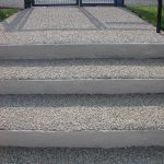 Drive-Cote Ltd resin bonded steps