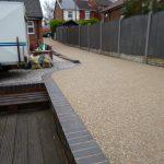 resin garden shaded area